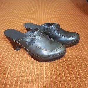 Kors Michael Kors leather clogs